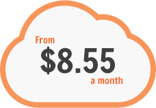 From $8.55/month